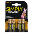 Pilas Duracell Simply AA