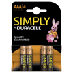 Pilas Duracell Simply AAA