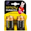 Pilas Duracell Simply D