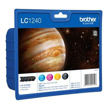 Cartucho de Tinta Brother Pack 4 Cores LC1240VALBP