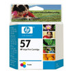 Cartuchos de Tinta Compatibles HP Color C6657A - 57A