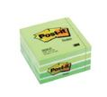 Notas Reposicionables Cubo 450 Hojas Verde Pastel 76x76mm Post-It