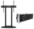 "Soportes TV - Televisión 70 - 110"" M PUBLIC DISPLAY BASE DUAL 180 FLIGHTCASE c/ Maleta Negro Multibrackets"