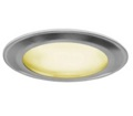 Paneles LED Downlights LED IP44 Acero 160mm 12W Caliente