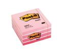 Notas Reposicionables Cubo 450 Hojas Rosa Pastel 76x76mm Post-It