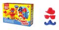 Kit de Pasta de modelar Funny Faces - 1 Color x 35 g + 2 Colores x 100 g