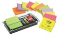 12 Notas Reposicionables Post-It Z Note  + Dispensador Millenium + Post-It Index