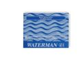 Cartuchos de Tinta Waterman 23 Azul 8 Un.