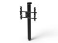 "Soportes TV - Televisión en Columna 40 - 70"" M DISPLAY WALL 145 SINGLE Negro Multibrackets"