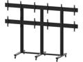 "Soporte Video Wall de Suelo 40 - 55"" M PUBLIC STAND 3x2 Negro Multibrackets 6 Pantallas"
