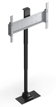 "Soportes TV Motorizado 43"" - 50"" Pared / Piso / Integración Pop-up Silver ( LED / LCD / PLASMA / TFT )"