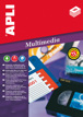 Etiquetas Apli Tag Slide Removible 44x10mm