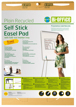 Bloco Papel para Flipchart  635x762mm Adhesiva Earth-It