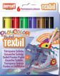 Témperas Sólidas Playcolor Textil Pocket 6 Unid