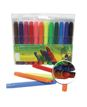 Rotulador Punta Larga 12 Colores 4Scholl