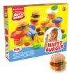 Kit de Pasta de modelar Happy Burger 4 Colores x 35 g