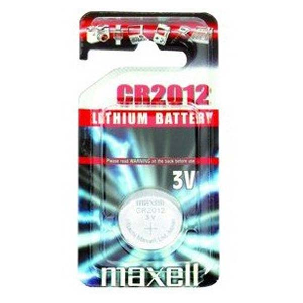 Pilas Maxell Litio CR2012 3V