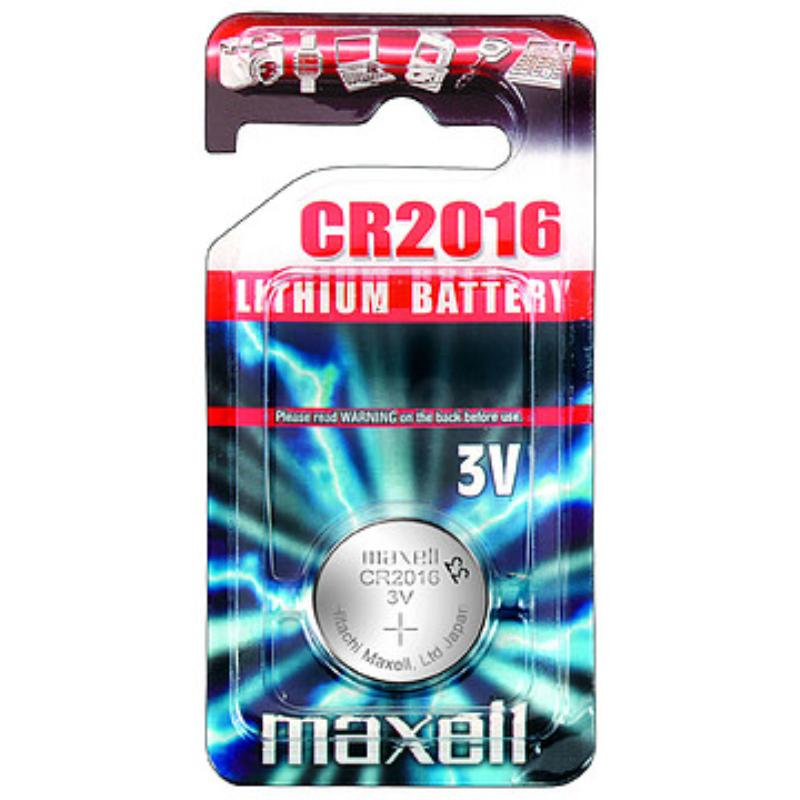 Pilas Maxell Litio CR2016 3V