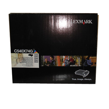 Kit Negro y Color Imaging Lexmark 0C540X74G