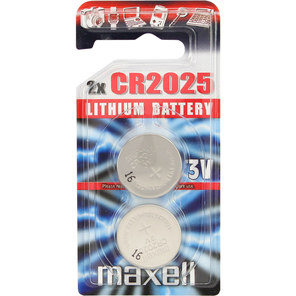 Pilas Maxell Litio CR2025 3V B2
