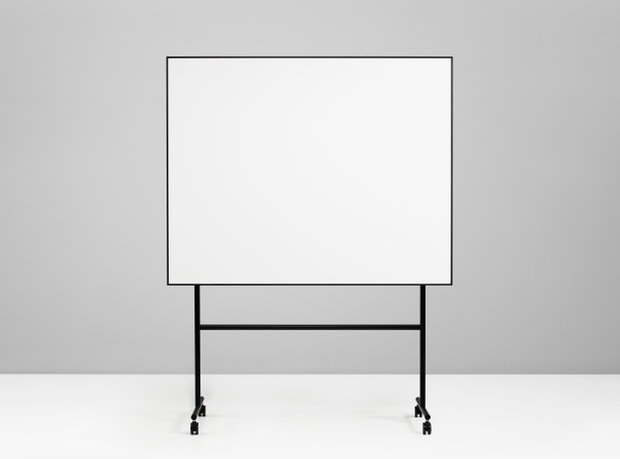 Tabla Magnetico Negro 200,7x196x50cm ONE Mobile Whiteboard