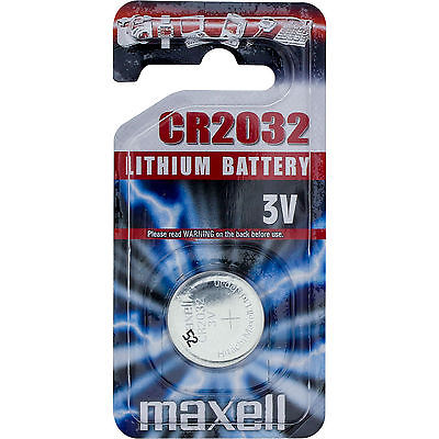 Pilas Maxell Litio CR2032 3V