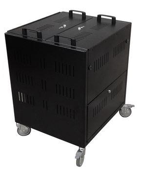 Armario con ruedas para tablets tabcart 32 sync charge - Ruedas para armarios ...