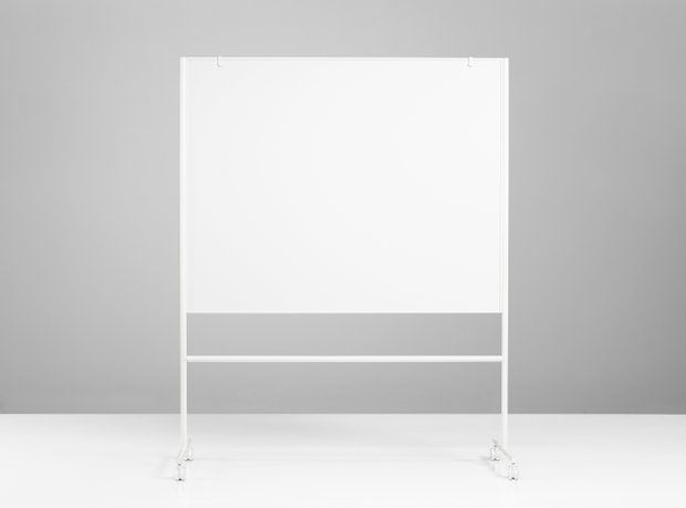 Tabla Magnetico Blanco 156,7x196x50cm ONE Double Sided Whiteboard