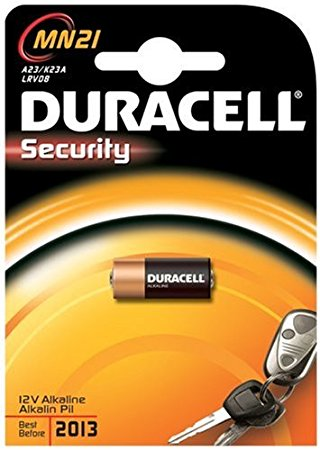 Pilas Duracell Security LRV08