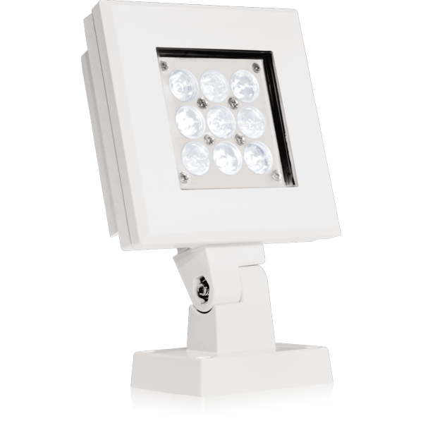 Proyectores de luz led para exterior accent arcqube9cw - Proyectores de luz ...