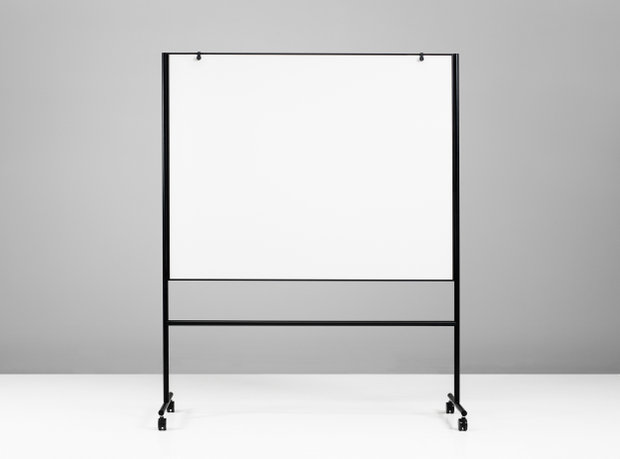 Tabla Magnetico Negro 206,7x196x50cm  ONE Double Sided Whiteboard