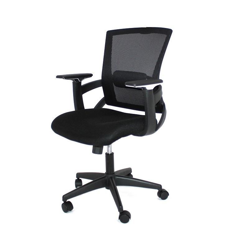 Sillas de oficina c ruedas y apoyabrazos real pl for Ruedas de sillas de oficina