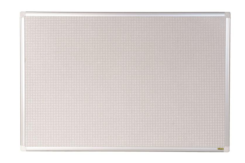 Tablero de corcho magnetico 90x120cm blanco marco aluminio combonet maya ricardo vaz - Tablero blanco ...