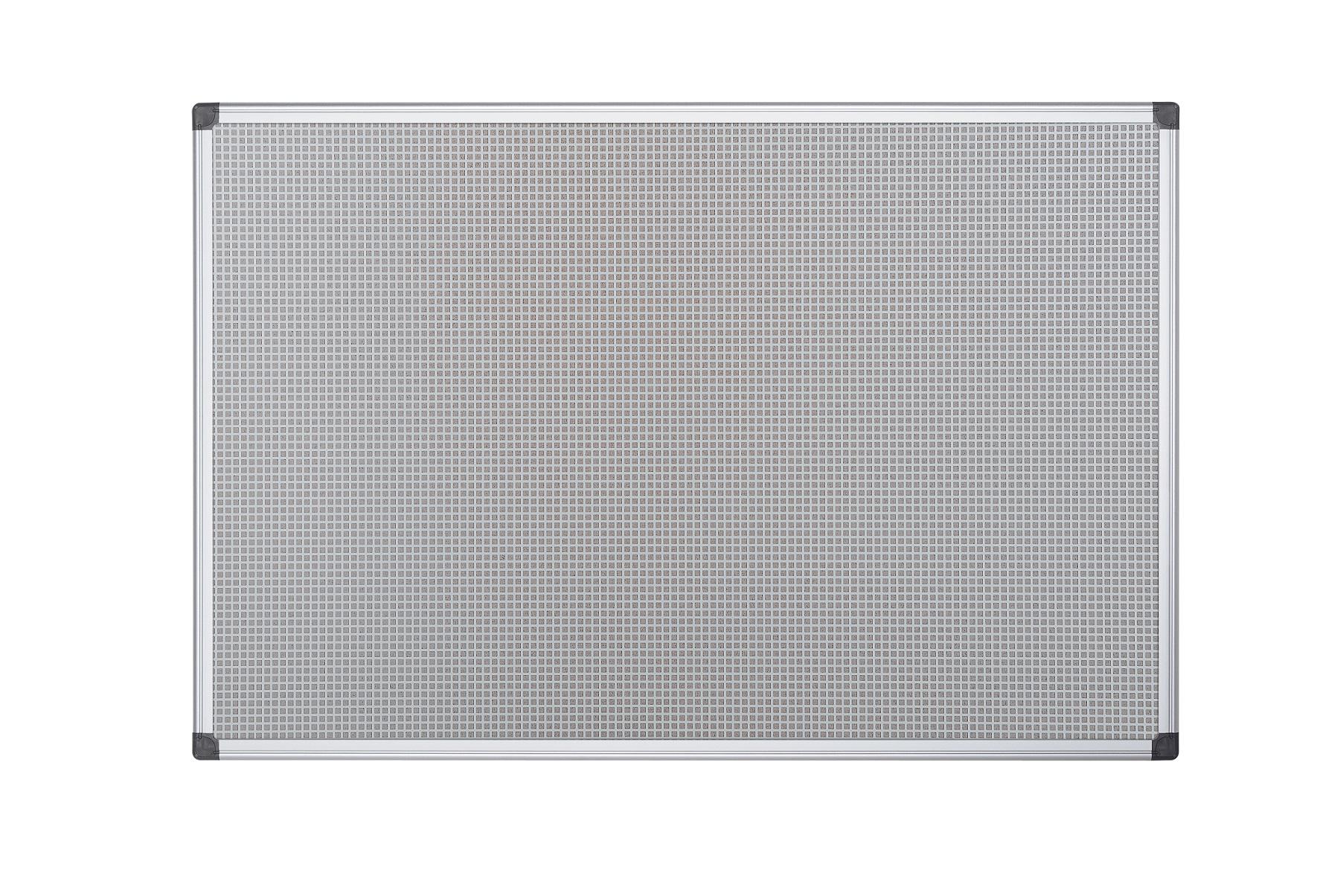 Tablero de corcho magnetico 60x90cm gris marco aluminio - Molduras de corcho ...